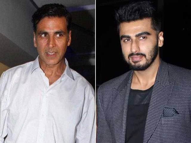 Akshay Sir And I Get Along Well: Arjun Kapoor Responds To Rumours Star Is Upset