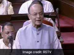 वित्तमंत्री अरुण जेटली ने लोकसभा में कहा - निजी बैंकों की तुलना में सरकारी बैंकों का कर्ज ज्यादा फंसा