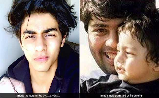पुरानी यादों में खोए करण जौहर, शेयर की शाहरुख खान के बेटे की 18 साल पुरानी Photo