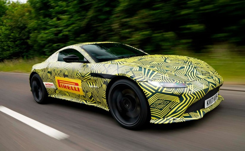 The Aston Martin V8 Vantage will be officially introduced by the end of this year