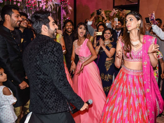 When Kriti Sanon And Ayushmann Khurrana Crashed A Sangeet