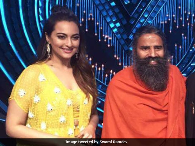 Baba Ramdev And Sonakshi Sinha May Judge A Reality Show. This Is Not A Drill