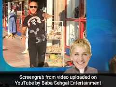 Baba Sehgal Has A New Song About Ellen DeGeneres. And People... Like It
