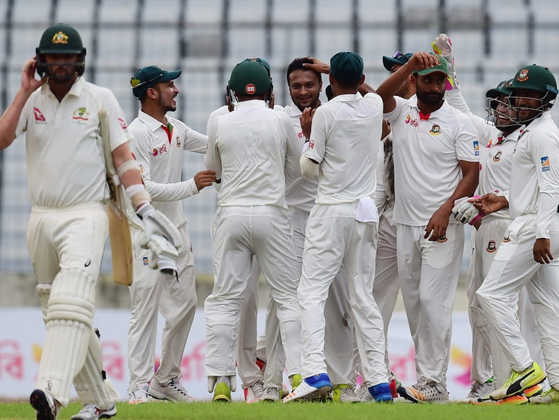 1st Test: Bangladesh Spinners Spoil Strong Day For Australia