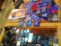 In Kashmir Jail, 20 Cellphones Found With Prisoners Facing Terror Charges