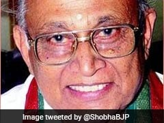 Senior BJP Leader BB Shivappa Dies