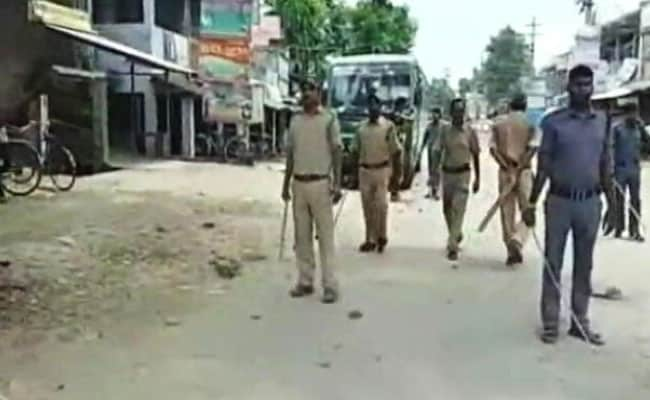 Bengal Top Cop Visits Barrackpore After Trinamool-BJP Clashes