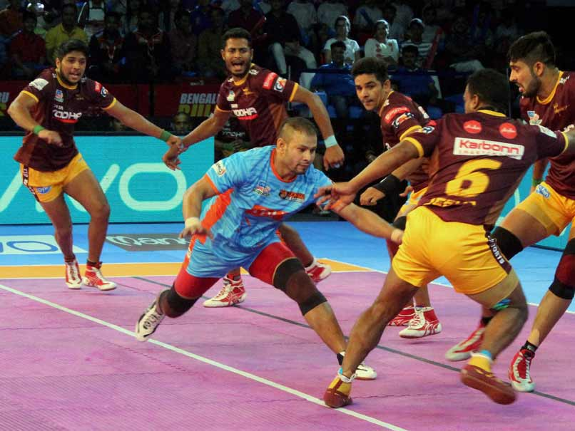 Pro Kabaddi League: Bengal Warriors Thrash UP Yoddha 40-20