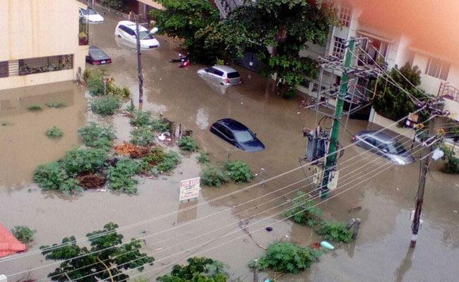 Bengaluru Flooded After Night-Long Rain, Heaviest Since 1890