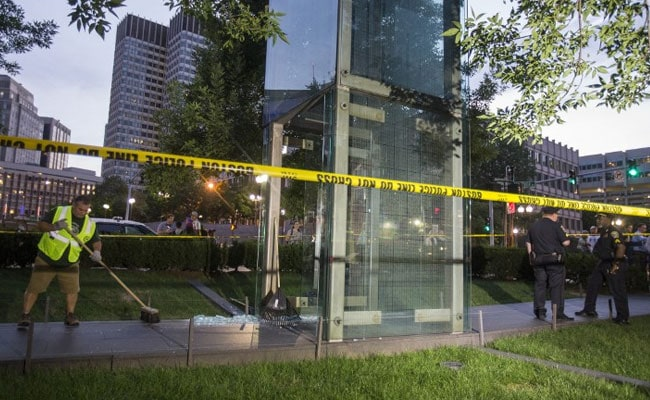 Boston Holocaust Memorial Vandalised Twice In Two Months