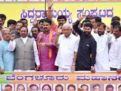 Karnataka BJP Leaders Meet Governor Over Charges Against BS Yeddyurappa