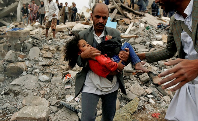 After Yemeni Air Strike, Little Girl Is Family's Only Survivor