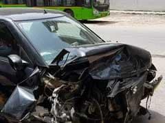 पूर्व डीजीपी की कार को मर्सडीज ने मारी टक्कर, पुलिस ने आरोपी को पकड़ा