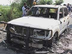 Car Torched Near Sirsa After Dera Chief Ram Rahim Singh Sentenced To 20 Years