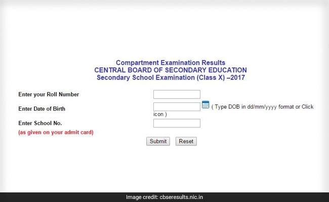 class 10 compartment result 2019