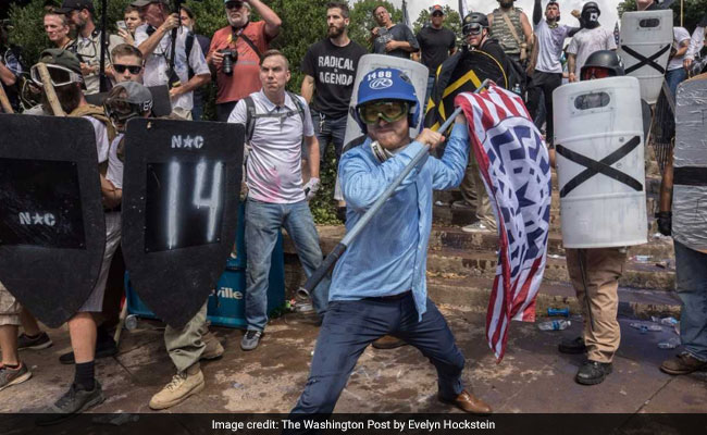 Three Dead In Wake Of Clashes At White Nationalist Gathering In Virginia
