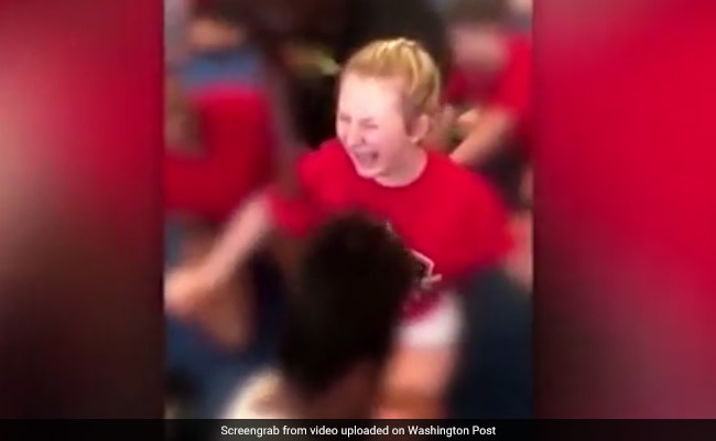 Video Shows Cheerleaders Forced To Do Splits Until They Screamed