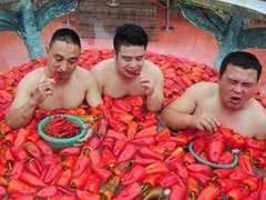 <i>'Hai Hai Mirchi'!</i> China's Chilli Eating Contest Isn't For The Faint-Hearted