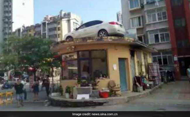 Bizarre Reason Why This Woman's Car Was Found On A Roof