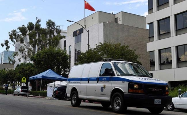 Gunman opens fire at Chinese consulate in Los Angeles before killing himself