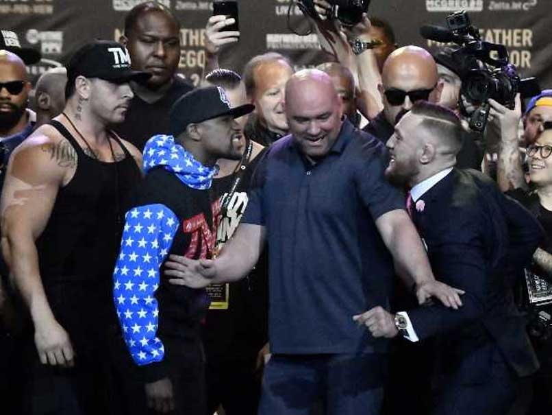 Conor McGregor Vows Fast Finish Against Floyd Mayweather