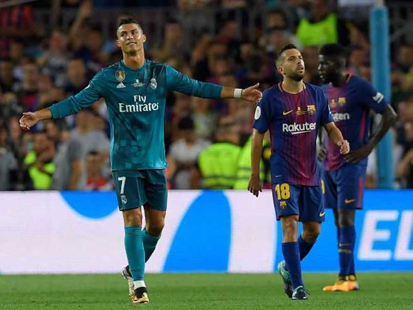 Cristiano Ronaldo Sent Off, But Real Madrid Roll Over Barcelona