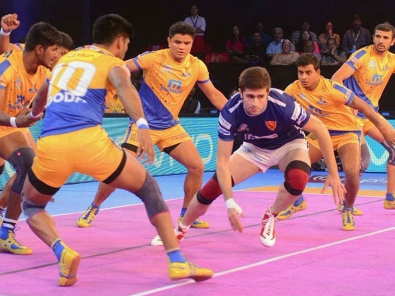 Pro Kabaddi League: Dabang Delhi Defeat Tamil Thalaivas For Second Win