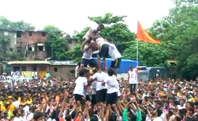 मुंबई में दही हांडी समारोहों के दौरान 45 गोविंदा घायल, पालघर में एक की मौत