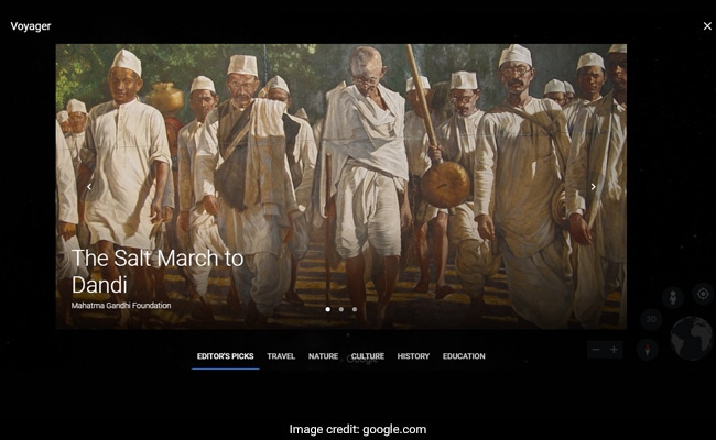 Google Has Recreated Mahatma Gandhi's Historic Dandi March, Join In