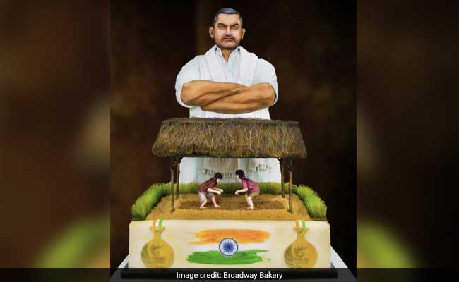 Independence Day Tribute From Dubai Bakery: Rs. 25 Lakh 'Dangal' Cake