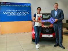 Datsun Redi-Go Gifted To Cricketer Harmanpreet Kaur