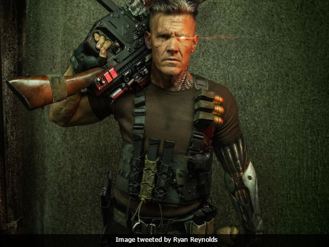 Deadpool 2: Ryan Reynolds Posts First Look Of Josh Brolin As Cable. With Guns And, Umm, Teddy Bear