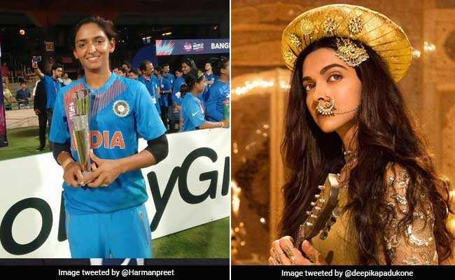 क्रिकेटर दीपिका पादुकोण..? स्टार क्रिकेटर हरमनप्रीत तो कुछ यही चाहती हैं...