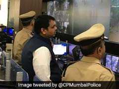 Chief Minister Devendra Fadnavis Reviews Situation In Rain Battered Mumbai