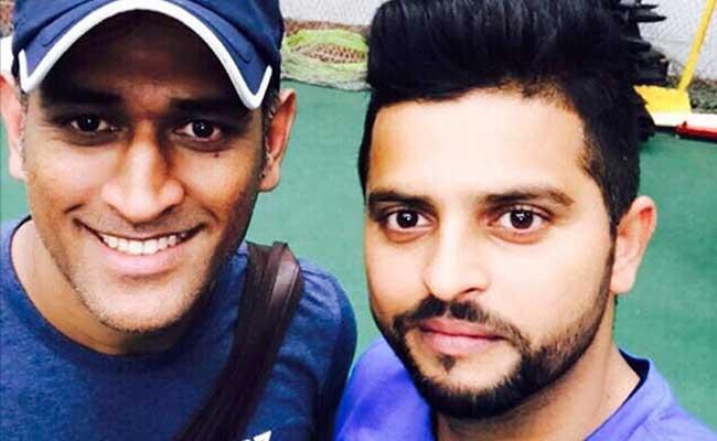 NCA में कड़ी मेहनत कर रहे सुरेश रैना ने महेंद्र सिंह धोनी की इस अंदाज में की प्रशंसा