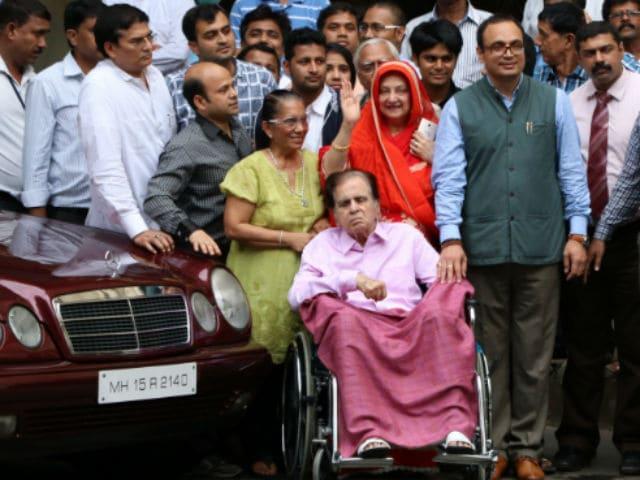 Dilip Kumar's Deteriorating Health Was A 'Nightmare,' Says Saira Banu