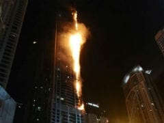 Blaze Rips Through Dubai Skyscraper 'The Torch'