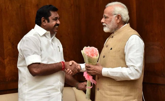 e palaniswami meeting pm