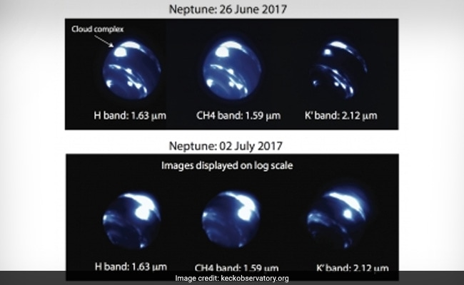 Massive Earth-Sized Storm Spotted On Neptune