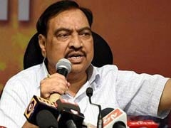 If We Change, Entire Atmosphere Will: NCP Poster At Eknath Khadse Residence