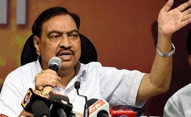 """Conspiracy"": Eknath Khadse On Being Left Out Of Maharashtra Council Polls"
