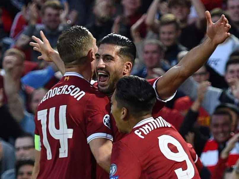 Emre Can Double Gets Liverpool Back Into Champions League