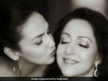 Pregnant Esha Deol Shares A Heartwarming Picture With Mother Hema Malini