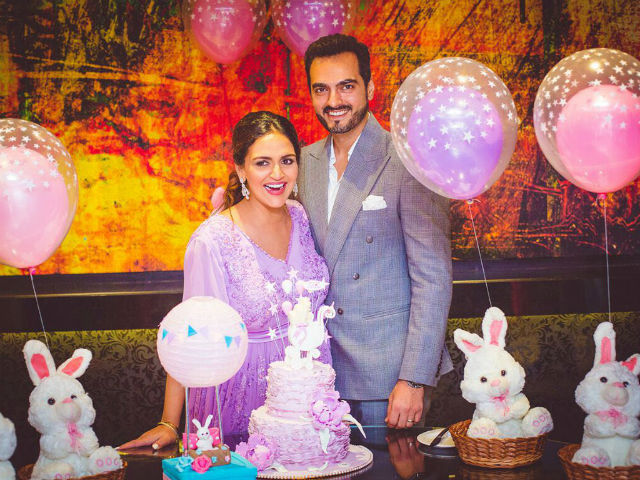 Inside Esha Deolu0027s Second Baby Shower, Courtesy Sister Ahana. See Dreamy  Pics