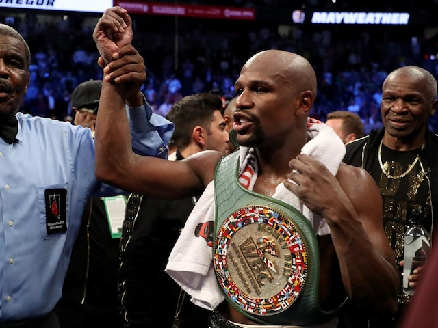 Fifty And Out As Floyd Mayweather Stops Conor McGregor