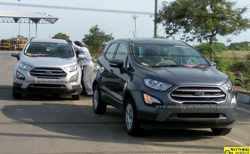 Ford Ecosport Facelift Is Expected To Be Launched In India During This Festive Season
