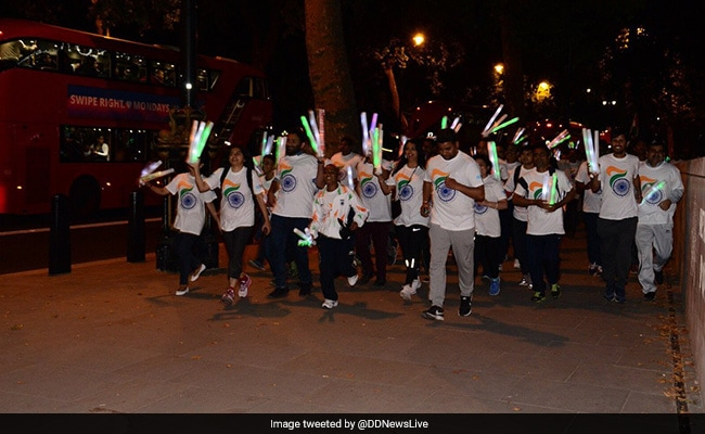 First-Ever Freedom Run Marks Independence Day In London