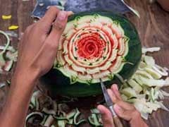 Fruit Carving, A Meticulous Art In Thailand