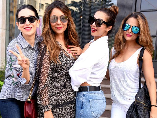 Gauri Khan Invited Friends Sridevi, Malaika Arora, Karisma Kapoor To Her Store Opening