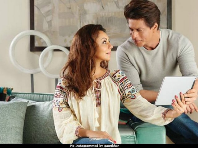 On Shah Rukh Khan And Gauri's 'Never Seen Before' Chemistry